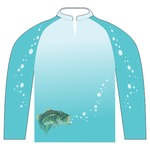 Bass-Blu Ladies Fishing Jersey