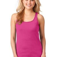 Ladies 100% Combed Ring Spun Cotton Tank Top Thumbnail
