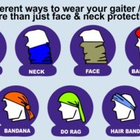 Matching Face / Neck Protection - Gaiters / Buffs Thumbnail
